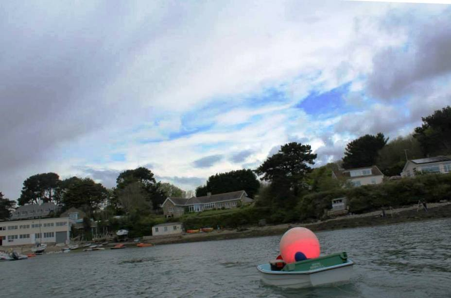 Towing the mooring to Planet