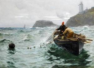 Charles Napier Hemy - St Anthony