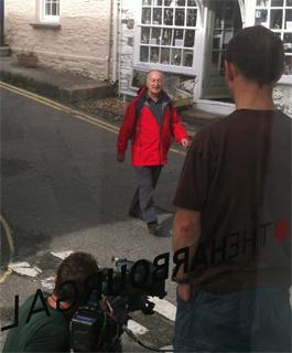 tony-robinson-filming