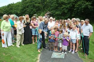 Mosaic path opening July 2014