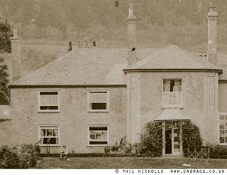ea bragg, froe house, portscatho (detail)