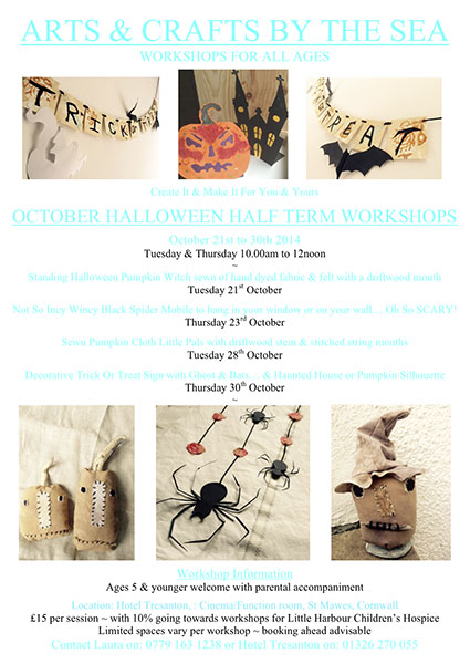 A&C Oct. Halloween Workshops 2014 - 2
