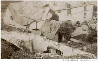 ea bragg, pendower house, storm of 1908, © phil nicholls  www.e