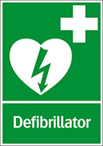 Sign-Defibrillator