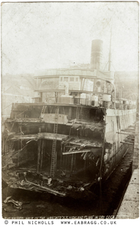 ea bragg, wreck of highland Fling, Falmouth, 1907, © phil nicho