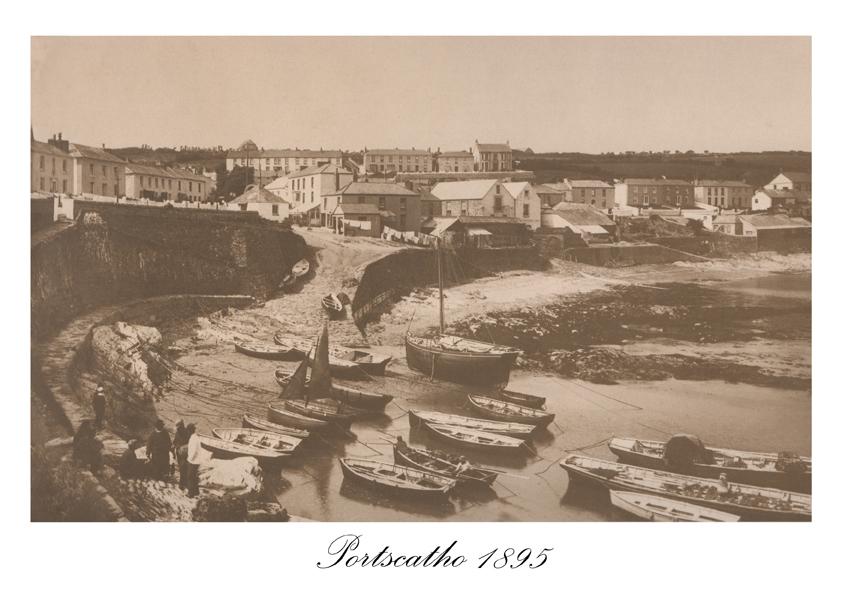 Portscatho1895-framed