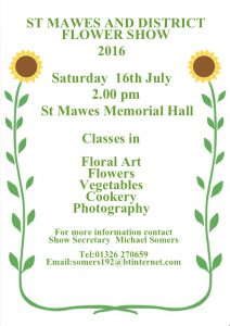 St Mawes Flower Show