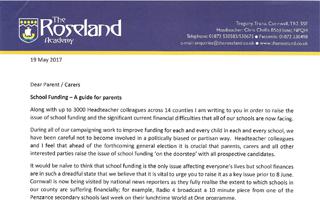roseland-scool-letter