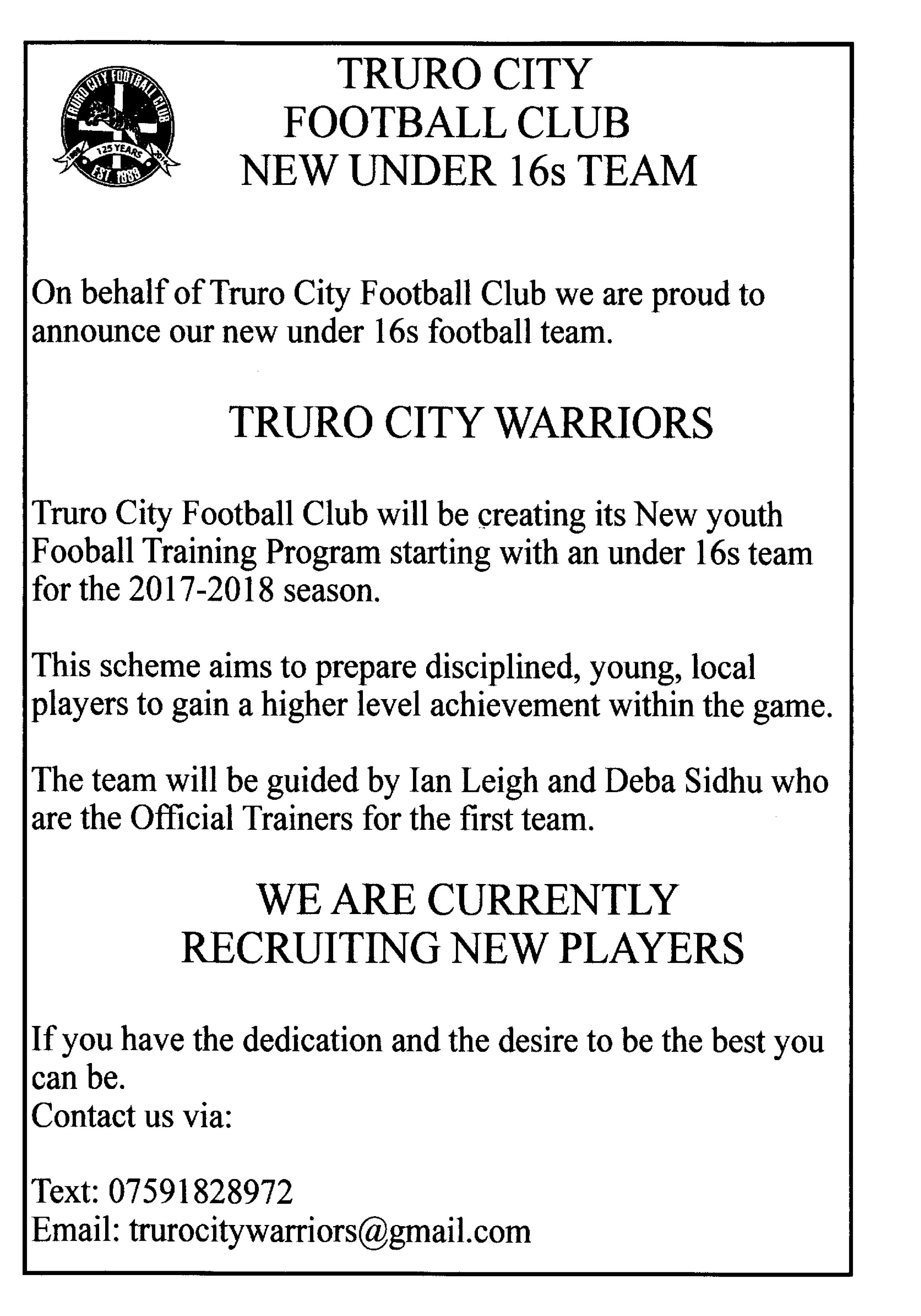 Truro Warriors