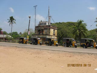 Our Branch in India!! Old? Coastguard Station at Alleppy,  Keralla. May still be in use. Now seems to  be a taxi rank!