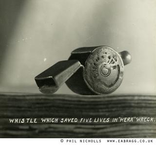 ea bragg, hera wreck, whistle 1914