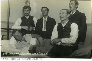 ea bragg, hera shipwreck survivors 1914