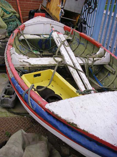Old ships lifeboat