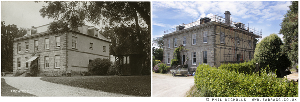 ea bragg, trewince house, portscatho, © phil nicholls  www.eabragg.co.uk