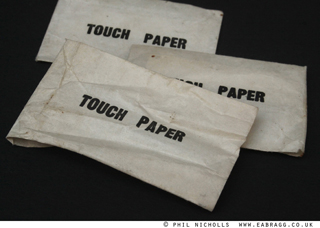 (5) flashlamp  touch paper