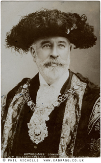 ea bragg, sir william treloar, mayor of london, 1907, © phil ni