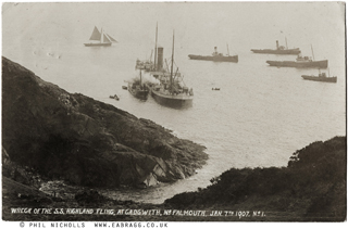 ea bragg, highland fling, cadgwith, falmouth, 1907, © phil nich